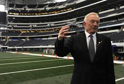 Dallas Cowboys owner Jerry Jones talks about hosting Super Bowl XLV at Cowboys Stadium.