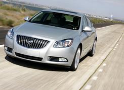 2011 Buick Regal CXL turbo: