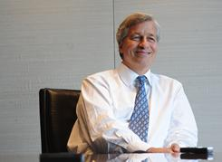 "JP Morgan Chase CEO Jamie Dimon says ""employment may grow faster than people think."""