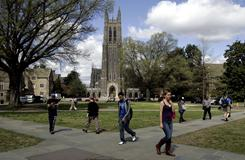 Duke University in Durham, N.C., is on The Princeton Review's list of 100 Best Value Colleges for 2011.