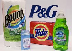 A small sample of Procter & Gamble products.
