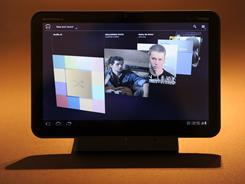 The Motorola XOOM Tablet computer 