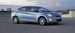 Sonata's swoopiness is downsized well in the Elantra.