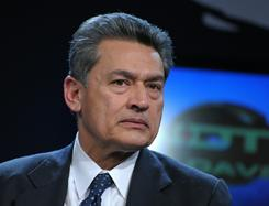 Rajat Gupta at the World Economic Forum in Davos Jan. 28, 2010 .