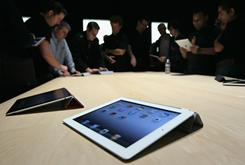 Apple unveiled the iPad 2 on Wednesday in San Francisco. It goes on sale March 11, starting at $499.