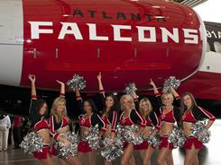 Airtran is the official sponsor of the Atlanta Falcons. 