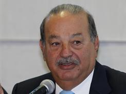 "Carlos Slim is the world's richest person, ""Forbes"" says."