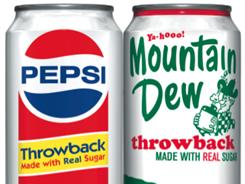 Pepsi and Mountain Dew are making their throwback cans permanent.