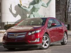 The Chevrolet Volt electric vehicle with extended-range capability won the 2011 North American Car of the Year title at the Detroit auto show.