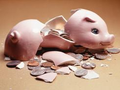 Survey shows a decline in the number of workers saving for retirement and an increase in those dipping into savings.