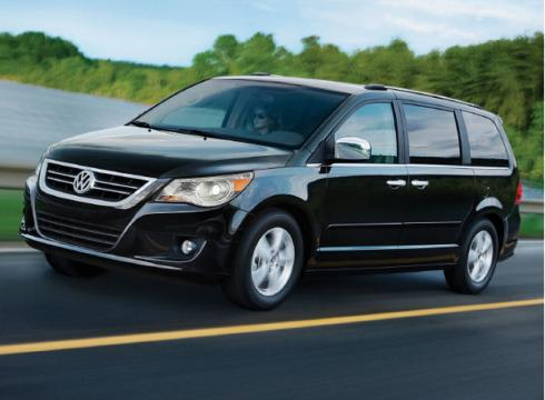 Volkswagen Routan 2011. The Volkswagen Routan.