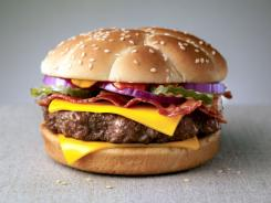 McDonald's Angus Third Pounder: Bacon and Cheese.