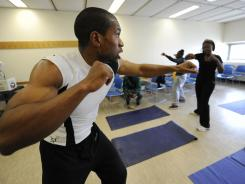 Manhattan resident Jacques Laventure, 24, is a fitness trainer.