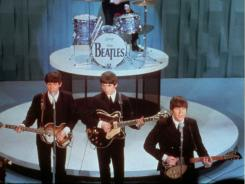 "The Beatles on the ""Ed Sullivan Show,"" 1964."