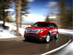 The 2011 Ford Explorer.