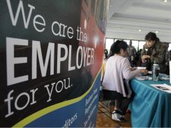 A job fair in San Jose.