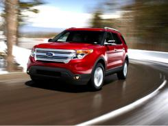 2011 Ford Explorer. One of Ford's hot sellers in March.
