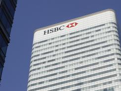 HSBC headquarters in London.