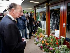 The shopping mall 'De Ridderhof' in the Netherlands was the scene of an April 9 shooting spree.