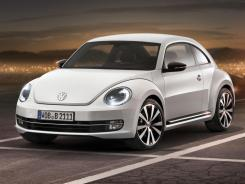 In this product image provided by Volkswagen of America, the redesigned Volkswagen Beetle is displayed.