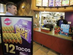 This Dec. 13, 2010 photo shows a Taco Bell restaurant in Mountain View, Calif.