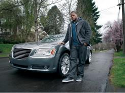 A Chrysler 300 ad featuring NFL rookie star Ndamukong Suh.