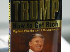 "Donald Trump's book ""How To Get Rich""."