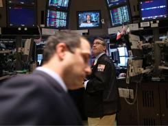 The New York Stock Exchange on April 18.