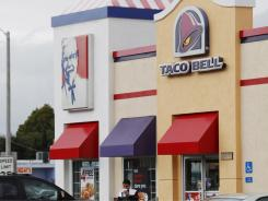 Taco Bell accounts for about 60% of Yum�s profit in the USA.
