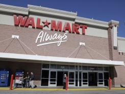 The Fortune 500 says Wal-Mart's 2010 revenue was $421,849 million.