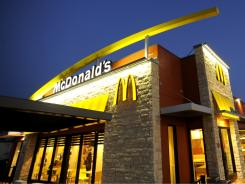 A recently rebuilt McDonald's in Palmetto, Fla.