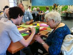 Many may need long-term care. In this March 12, 2011 photo, Tyler