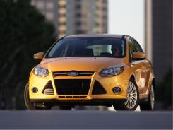 The 2012 Ford Focus.