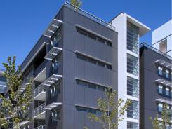 Vancouver's Olympic Village used Alcoa's Reynobond aluminum.