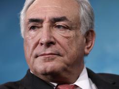 International Monetary Fund Managing Director Dominique Strauss-Kahn.