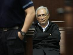 IMF chief Dominique Strauss-Kahn appears Monday for his arraignment in federal court.