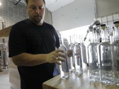 Stuart Hobson, owner/distiller of Heartland Distillers in Indianapolis.