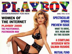 Subscribers will be able to see back issues like this Playboy from 1996.