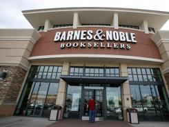 A customer enters a Barnes & Noble in Bethel Park, Pa., on June 8, 2010.