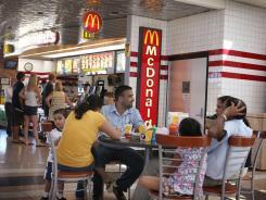 A McDonald's in Schiller Park, Ill.