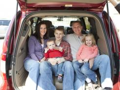 Travis and Heather Weatherby are parents to 15-year-old Colin; Loralei, 6; and Dexter, 1.