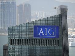 AIG Tower in Hong Kong.