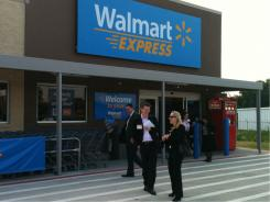 The yet-to-open Wal-Mart Express store in Gentry, Ark., could be a prototype for hundreds more.