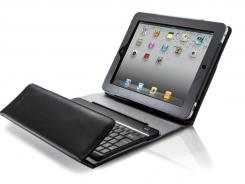 A Bluetooth Keyboard portfolio case.