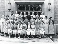 IBM pioneered training courses for women so they could work in technical positions traditionally filled by men.
