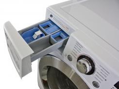 Detail of the Kenmore 40272 washing machine.