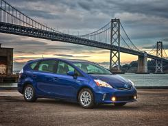 In the 2012 Toyota Prius v, the v stands for versatility.