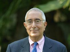 Ben Stein is interviewed at one of his three homes in California on April 20, 2011.