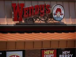 A Wendy's restaurant in Chicago.