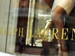 A window display at a Polo Ralph Lauren store in New York City.